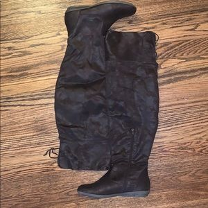 Comfortview Brown Over-the-knee boots Size 11m